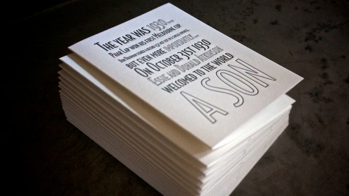 Birthday Invites by Ma Joie Press