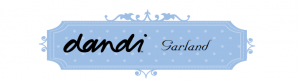 Dandi fabric garland