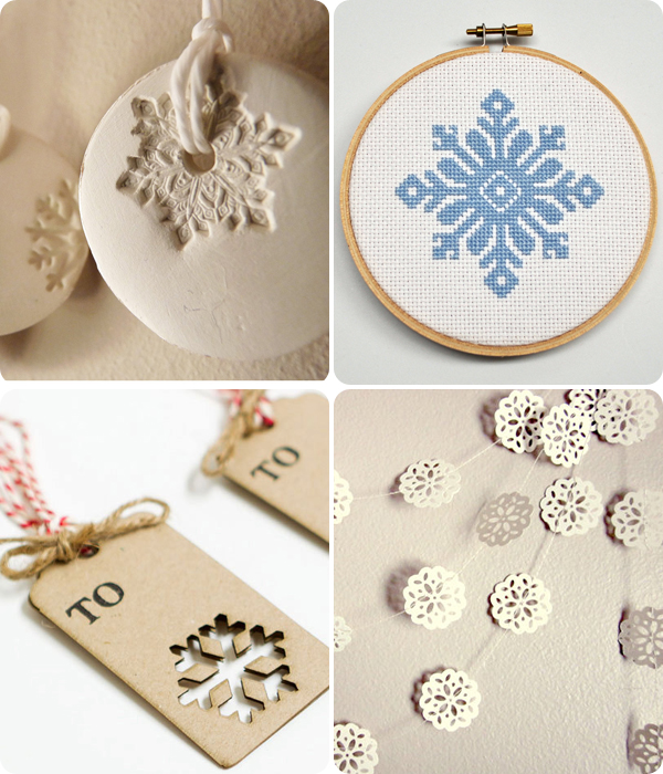 Selection of snowflakes