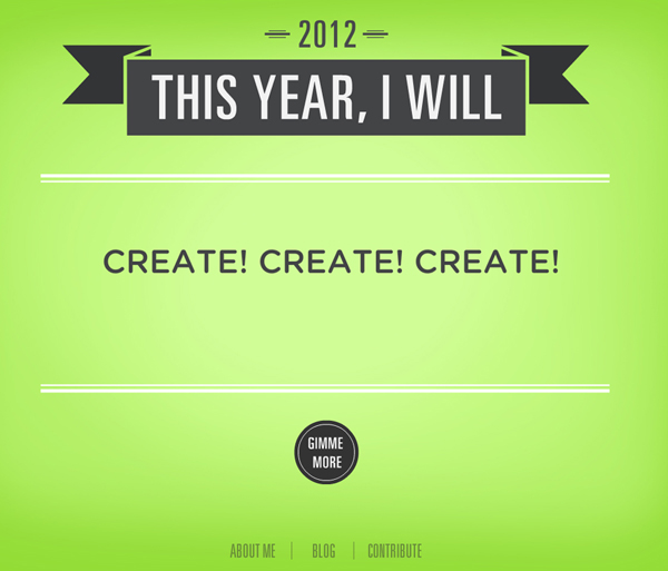 Resolution - Create Create Create