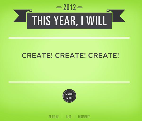 Resolution - Create Create Create