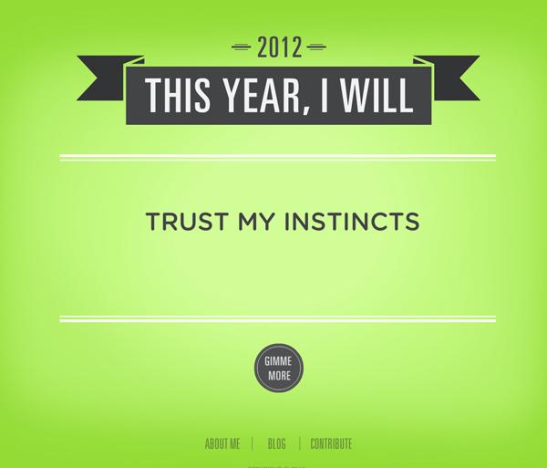 Resolution - Trust My Instincts
