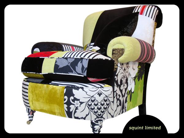 Patchwork armchair