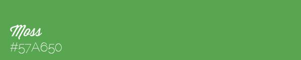Colour swatch #57A650