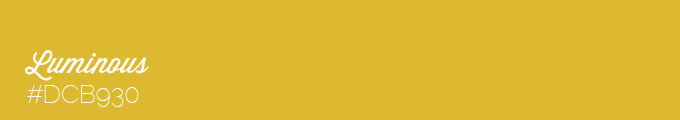 Yellow colour swatch