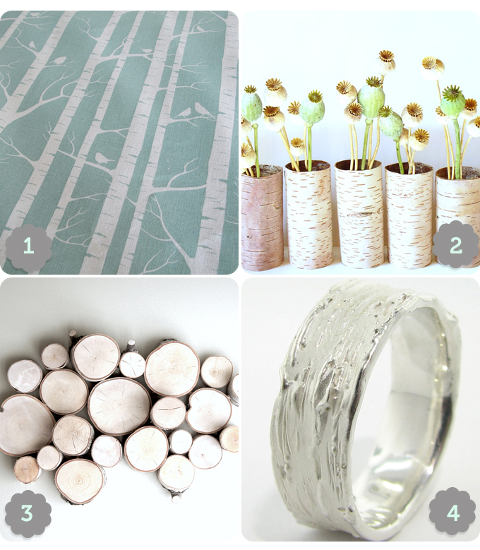 4 products inspired by Birch trees