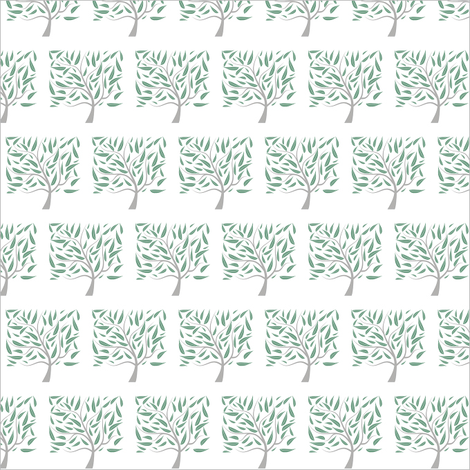 summer trees pattern