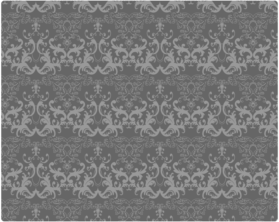 Pattern inspired by chandeliers