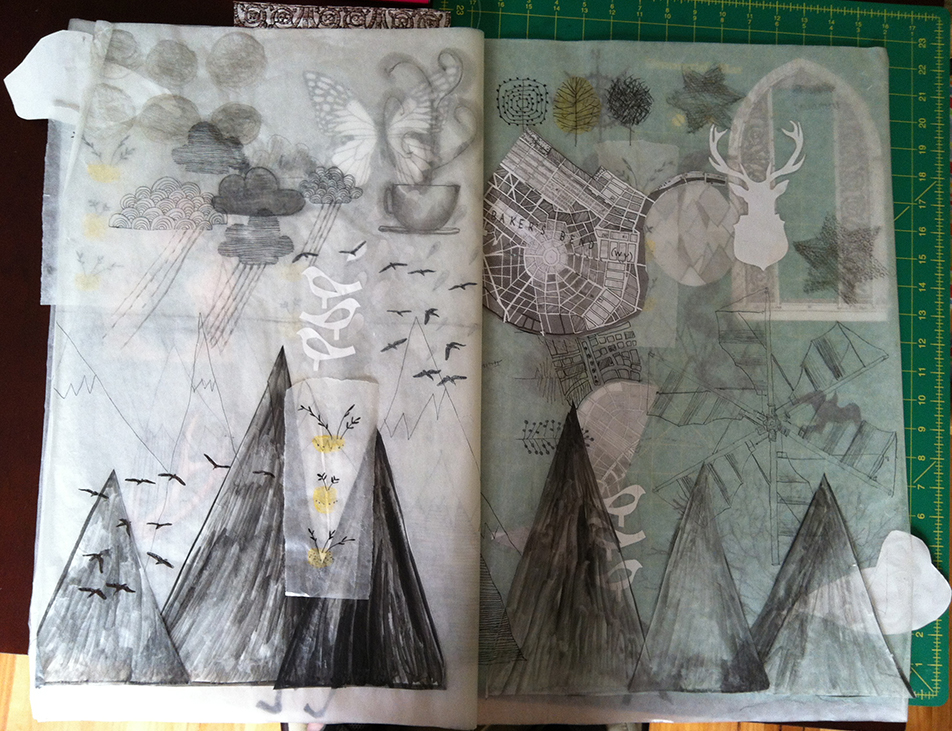 Mixed media work page 3