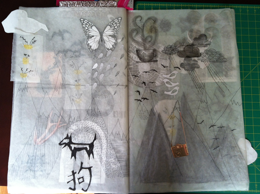 Mixed media page 4
