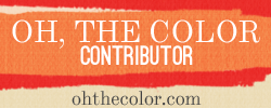 Link to Oh The Color blog