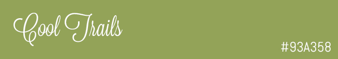 Colour swatch #93A358