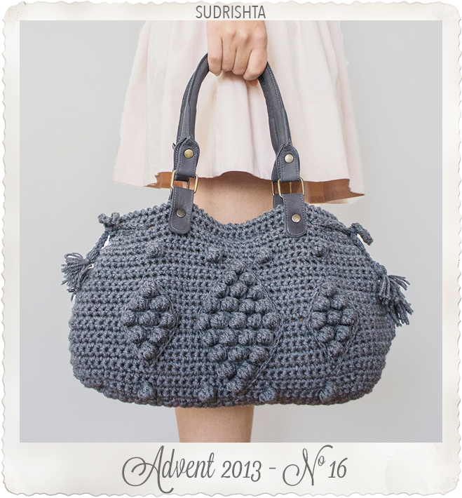 Gray Shoulder Bag by Sudrishta