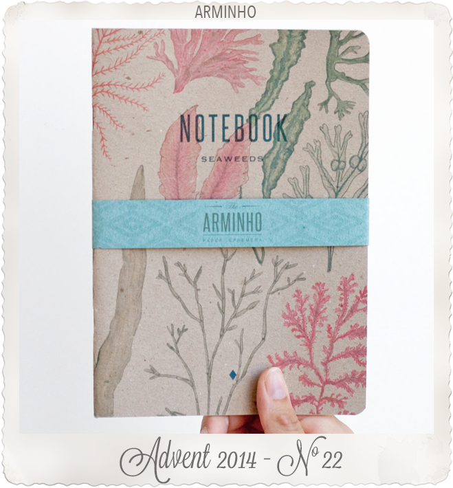 SEAWEEDS notebooks recycled brown cover by ARMINHO