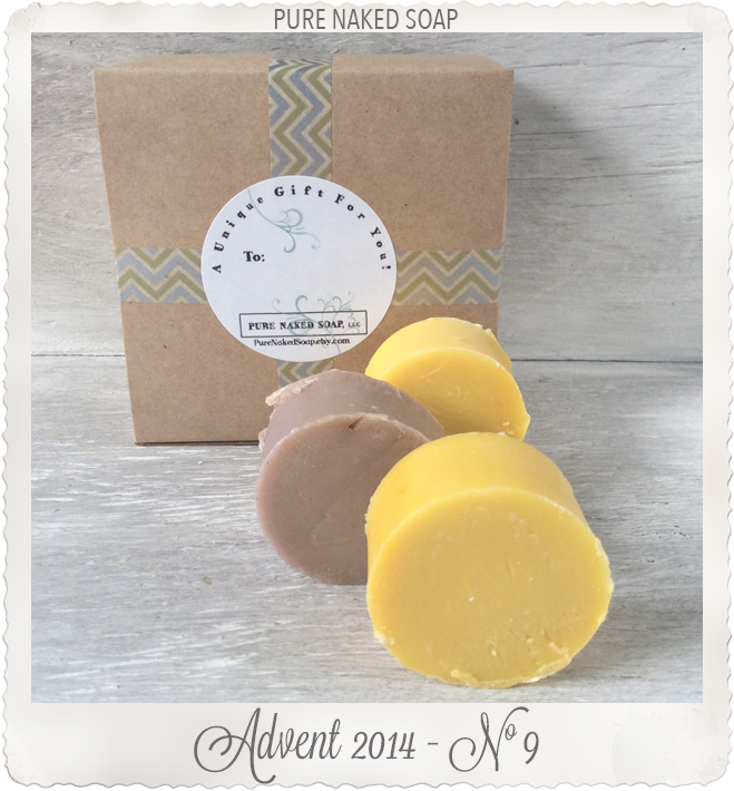 Hand made soap by Pure Naked Soap