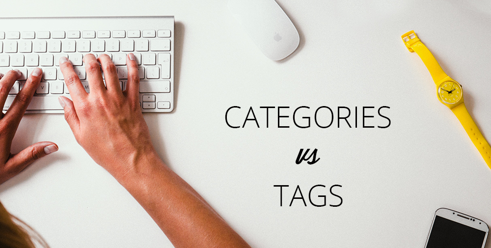 Categories vs tags
